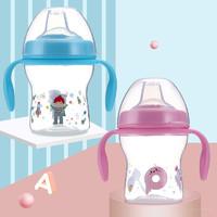 邦贝小象1-3岁宝宝水杯鸭嘴杯240ml