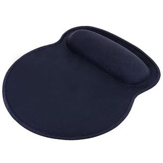 得力2225腕托鼠标垫带腕托记忆棉设计精细锁边游戏鼠标垫桌垫