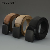 pelliot伯希和男女战术平滑扣裤腰带