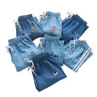 南极人 儿童牛仔防蚊裤 纯棉 100-160cm