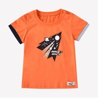 pencilclub 铅笔俱乐部 儿童短袖印花T恤 *2件