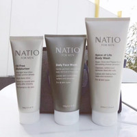 Natio 男士日常护肤3件套