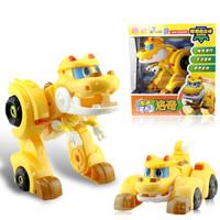 灵动创想 帮帮龙出动儿童玩具男孩女孩变形玩具 帮帮龙发声变形系列-洛奇5905