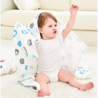 Disney 迪士尼 婴儿泡泡棉纱浴巾 110*70