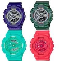 CASIO 卡西欧 GMAS-110 中性时装腕表*2件