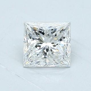 Blue Nile 1.01克拉 公主方钻石(切工VG,成色E,净度VVS2)