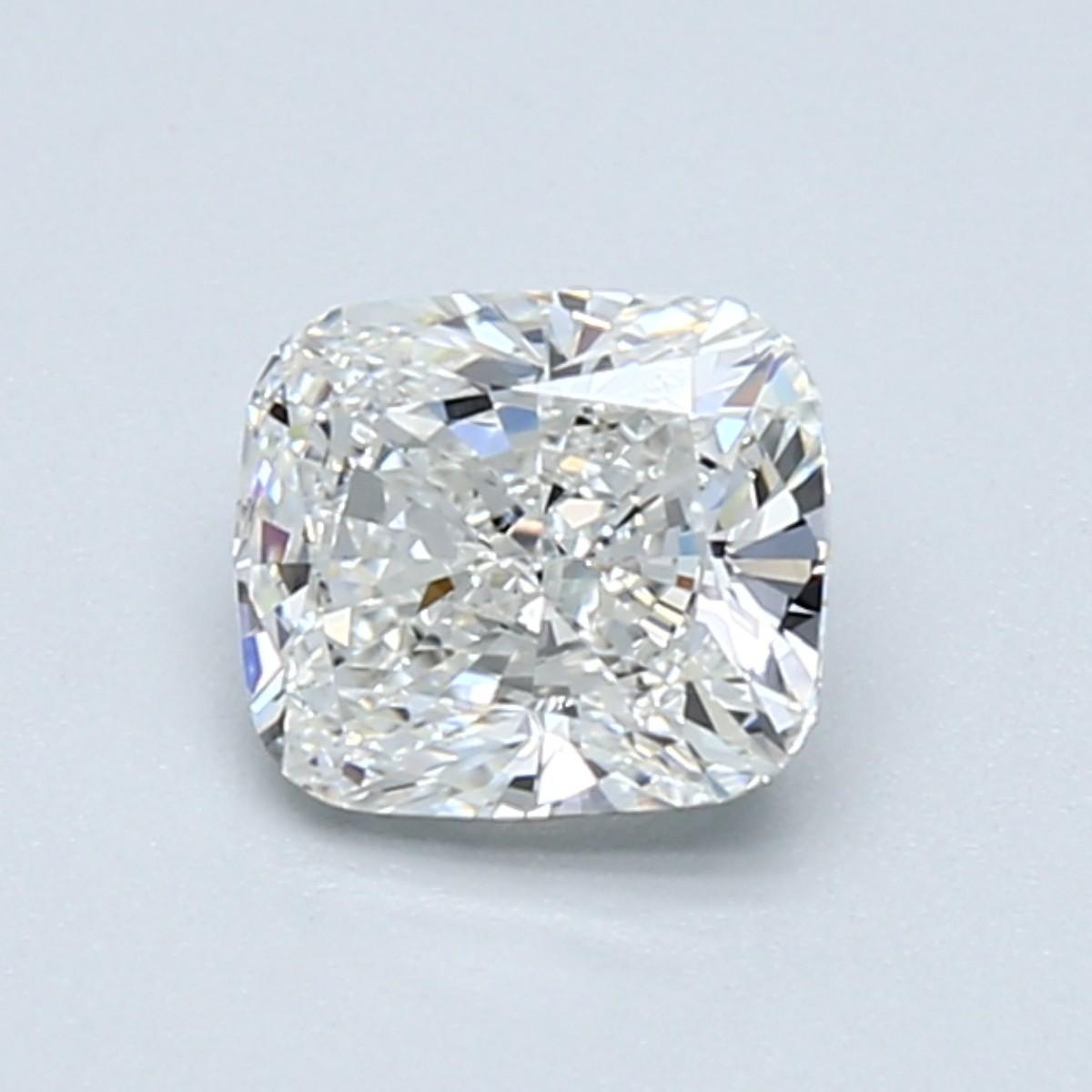 Blue Nile 1.01克拉 垫形钻石(切工VG,成色H,净度VS1)