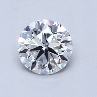 Blue Nile 1.00克拉 圆形钻石(切工VG,成色F,净度VS2)