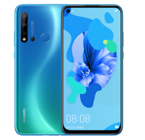 HUAWEI 华为 nova 5i 4G版 智能手机 6GB+128GB 全网通 苏音蓝