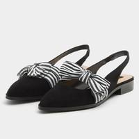 PULL&BEAR 15400311 女款平底凉鞋
