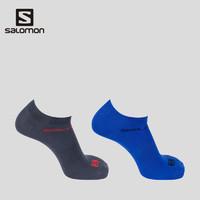 Salomon 萨洛蒙男女款袜子 户外跑步短袜 FESTIVAL 2-PACK