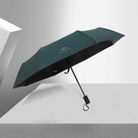 美人鱼 黑胶晴雨两用伞 常规手动款