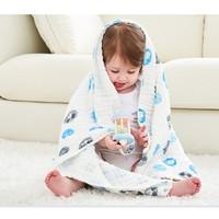 Disney 迪士尼 嬰兒泡泡棉紗浴巾