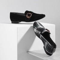 YANXUAN 網易嚴選 女式格紋平底鞋