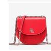 PLD时尚单肩包斜挎包百搭半圆链条包包 VA4415-10红色