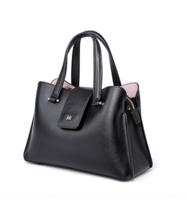 Helena Rubinstein 赫莲娜 女士手提包 时尚休闲搭扣拉链单肩包斜挎包百搭女包包 H2-0001881A1D黑色
