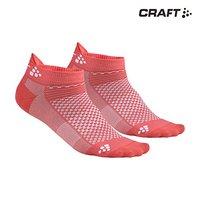 CRAFT 夸夫特 Cool 两双装 无帮 运动袜 跑步运动 袜子 速干 排汗 多运动 休闲袜 1905043
