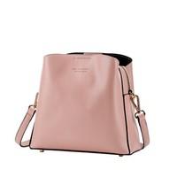 OMI 欧米 水桶包女双肩带包单肩包斜跨包1183T10551H 粉色