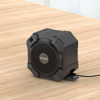 ORICO 奥睿科 ORICO SOUNDPLUS-A1-BK 便携式无线户外迷你音响 (黑色)
