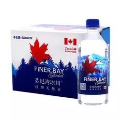 芬尼湾 冰川饮用水 500mlx12瓶