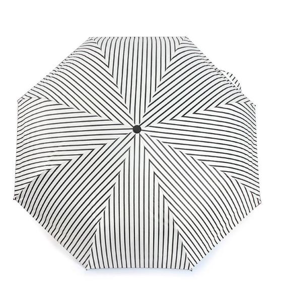 当当优品 三折黑胶晴雨伞
