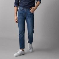 Massimo Dutti  00048118405 男士修身牛仔裤