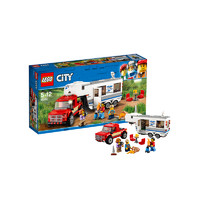 LEGO 乐高 City 城市系列 60182 亲子野营房车