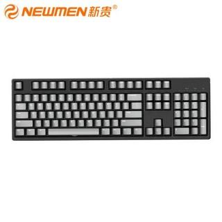 NEWMEN 新贵 C104 机械键盘(Cherry红轴、PBT)