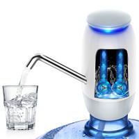 双泵桶装水抽水器电动纯净水桶压水器矿泉水饮水机家用自动上水吸