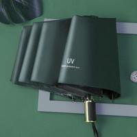 移动专享 : 如航优品 UV商务晴雨伞 墨绿色
