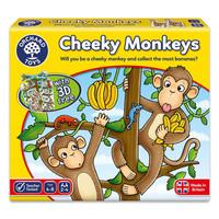 Orchard Toys 桌游CHEEKY MONKEYS调皮猴