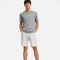 UNIQLO 优衣库 417216 男士条纹休闲短裤