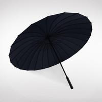 Neyankex 超大24骨长柄雨伞 黑色