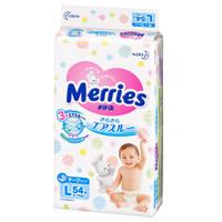 Merries 花王 妙而舒 婴儿纸尿裤 L54片 *6件