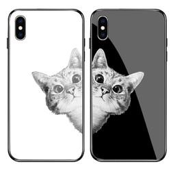 酷鹊 iPhone6-XsM 玻璃手机壳 送钢化膜