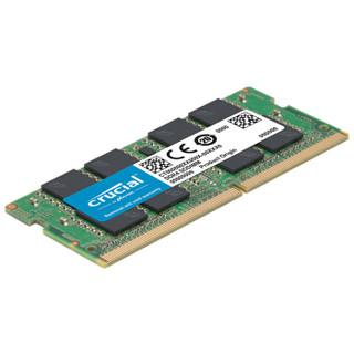 crucial 英睿达 DDR4 2666MHz 笔记本内存 16GB