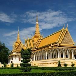 广州-柬埔寨金边6天往返含税机票+1晚酒店