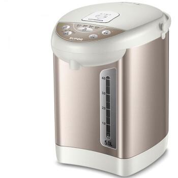 SUPOR 苏泊尔 电热水瓶 电热水壶烧水壶 5L容量  双层防烫 304不锈钢开水壶 SW-50T60A