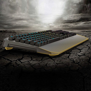 ASUS 华硕 TUF Gaming K5 竞特工系列RGB游戏键盘 (黑色、有线)