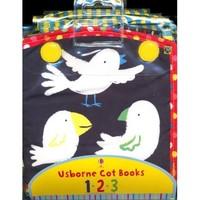 《Usborne Cot Books:123 数字布书》英文原版