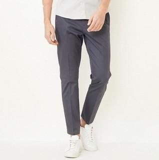 思莱德 41818Y502 含棉混纺修身长裤