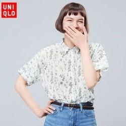 UNIQLO 优衣库 416358 S Sanderson 女士印花衬衫