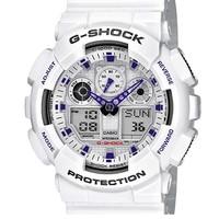 中亚Prime会员 : CASIO 卡西欧 G-SHOCK GA-100A-7AER 男士双显运动手表