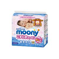 moony 尤妮佳 婴儿超柔加厚水润湿巾 60抽*3包 *3件