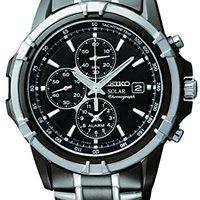 Seiko SSC143 太阳能不锈钢男士手表