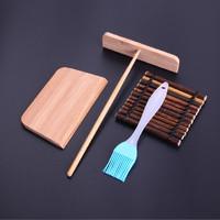一口田 杂粮煎饼果子工具 竹蜻蜓+硅胶刷
