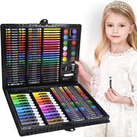 逸倾缘 儿童可水洗水彩笔绘画套装 168件