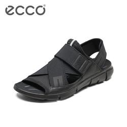 ECCO爱步防滑商务皮凉鞋 男士户外休闲透气沙滩鞋 盈速凉鞋842004