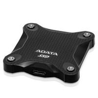 ADATA 威刚 移动硬盘 固态(PSSD)  USB3.1 SD600Q 1.22米防摔 黑色 960GB
