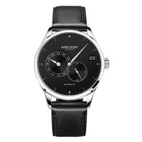 艾戈勒(agelocer)忒弥斯系列瑞士手表 男士全自动商务休闲手表防水机械表三针分离大日历腕表 5103A1